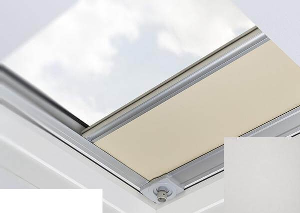 Fakro - ARF/D II 055 - Flat Roof Manual Blackout Blind - Grey