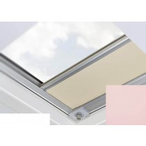 Fakro - ARF/D II 262 - Flat Roof Manual Blackout Blind - Rose