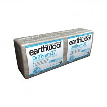 Knauf Insulation - Earthwool DriTherm Cavity Slab - 37 Standard (1200mm x 455mm x 50mm - 6.55m2)