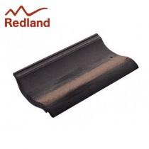 Redland Fenland Tile - Pantile Concrete Tile - Smooth Breckland Black (5121)