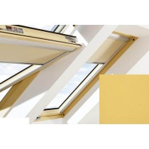 Fakro - ARF II 258 - Electrically Operated Blackout Blind (Z-Wave) - Mustard