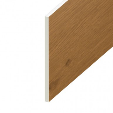 Soffit UPVC Board - Flat 300mm x 9mm - Irish Oak (5m)