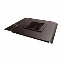 Envirotile - Plastic Lowline Tile Vent - Dark Brown