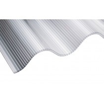 "Corolite CST Iron - 3"" Twinwall Corrugated Polycarbonate Sheet - 1060mm x 3050mm"