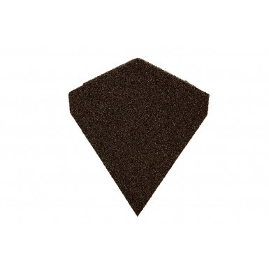 Britmet - Angle Ridge End Cap - Bramble Brown