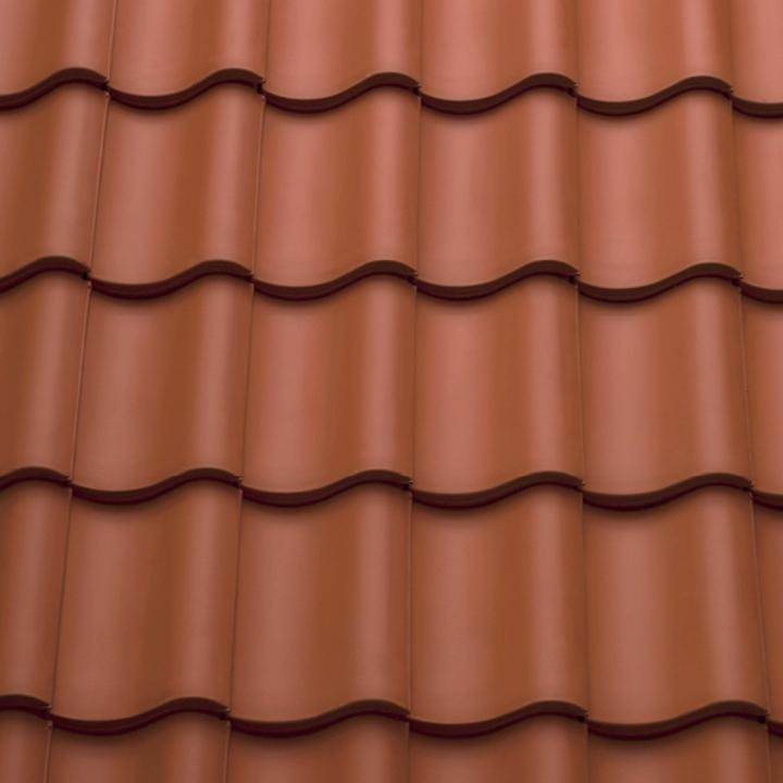 Sandtoft County Pantile - Clay Tile - Natural Red