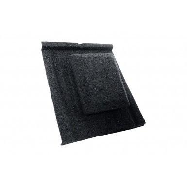 Britmet - Slate 2000 - Air Vent Tile - Titanium Grey