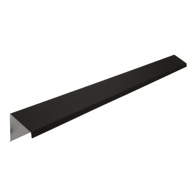 Britmet - Pantile 2000 - Barge Flashing - Mid Grey (2000mm)