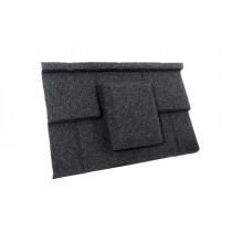 Britmet - Plaintile - Air Vent Tile - Titanium Grey
