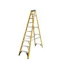 Youngman Trade Fibreglass Step Ladder with Holster Top