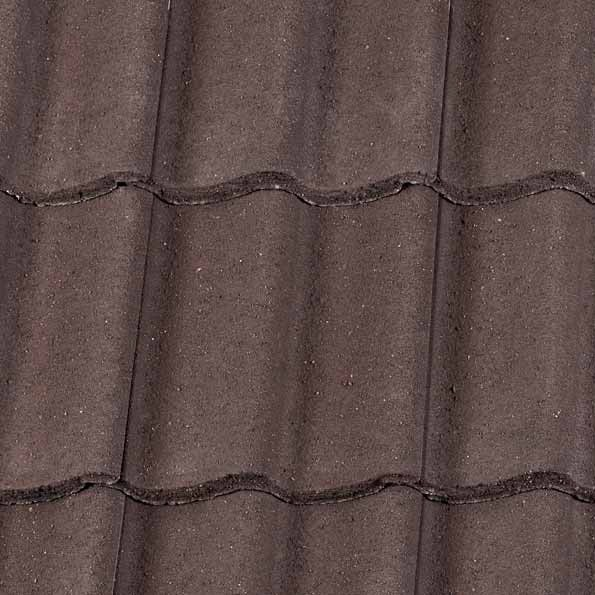 Redland Grovebury Tile Concrete Tile Granular Brown 5741