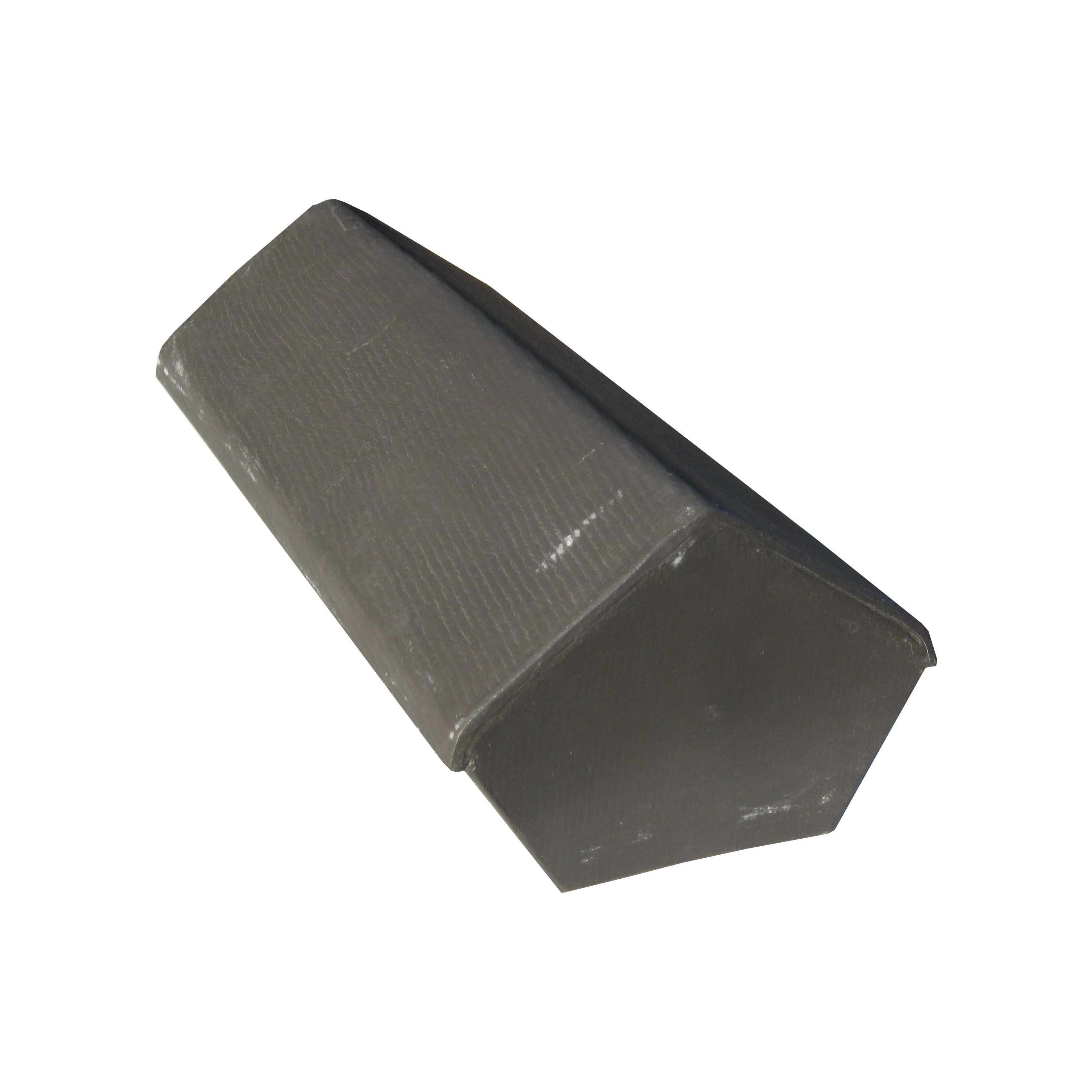 Cembrit Fibre Cement Continuous Vented 75° to 135° Ridge with End Cap - 500mm x 250mm
