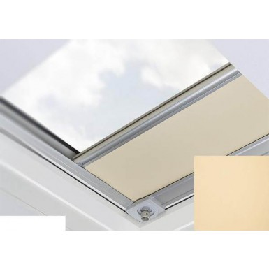 Fakro - ARF/D I 052 Z-Wave - Flat Roof Electrically Operated Blackout Blind - Peach