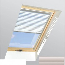 Fakro - AJP II 141 - Standard Manual Venetian Blind - Cream