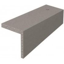 Marley Right Hand Concrete Plain Tile Cloak Verge