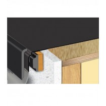 Sure Edge - Gutter Edge Drip Trim - Black (2.5M)