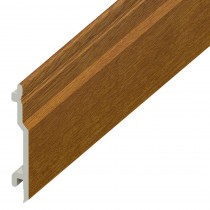 Open V UPVC Cladding Board - 100mm - Golden Oak (5m)