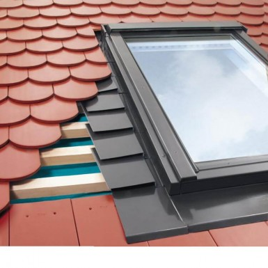 Fakro - Flashing For Side Hung Escape Window - Plain Tile Up To 15mm Thick [EPW]