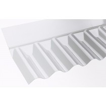 "Vistalux - ASB 3"" Clear PVC Wall Flashing (695mm)"