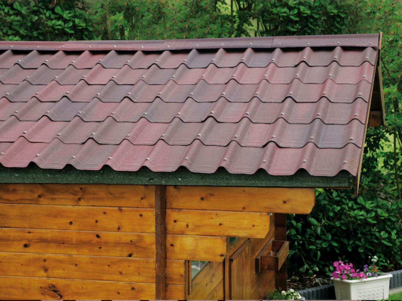 Onduvilla Bitumen Roof Tiles Shaded Green 2 18 M2