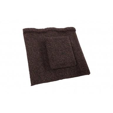 Britmet - Profile 49 - Air Vent Tile - Rustic Brown