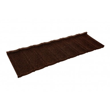 Britmet - Ultratile - Lightweight Metal Roof Tile - Rustic Brown (0.45mm)