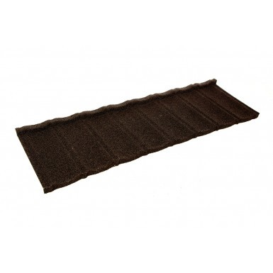Britmet - Ultratile Plus - Lightweight Metal Roof Tile - Bramble Brown (0.9mm)