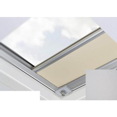 Fakro - ARF/D II 058 - Flat Roof Manual Blackout Blind - Silver