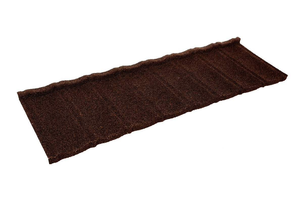 Britmet - Ultratile Plus - Lightweight Metal Roof Tile - Rustic Brown (0.9mm)