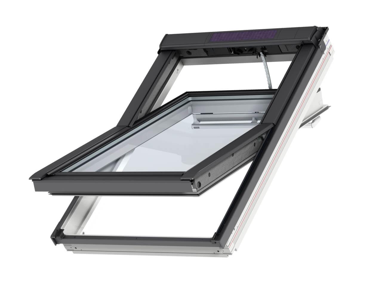 velux integra solar powered roof windows roofing megastore. Black Bedroom Furniture Sets. Home Design Ideas