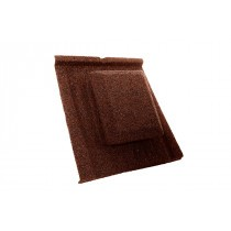 Britmet - Slate 2000 - Air Vent Tile - Rustic Terracotta