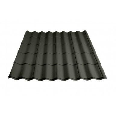 Britmet - Pantile 2000 - Tile Effect Sheet - Made to Measure - Sage Green (0.9mm)