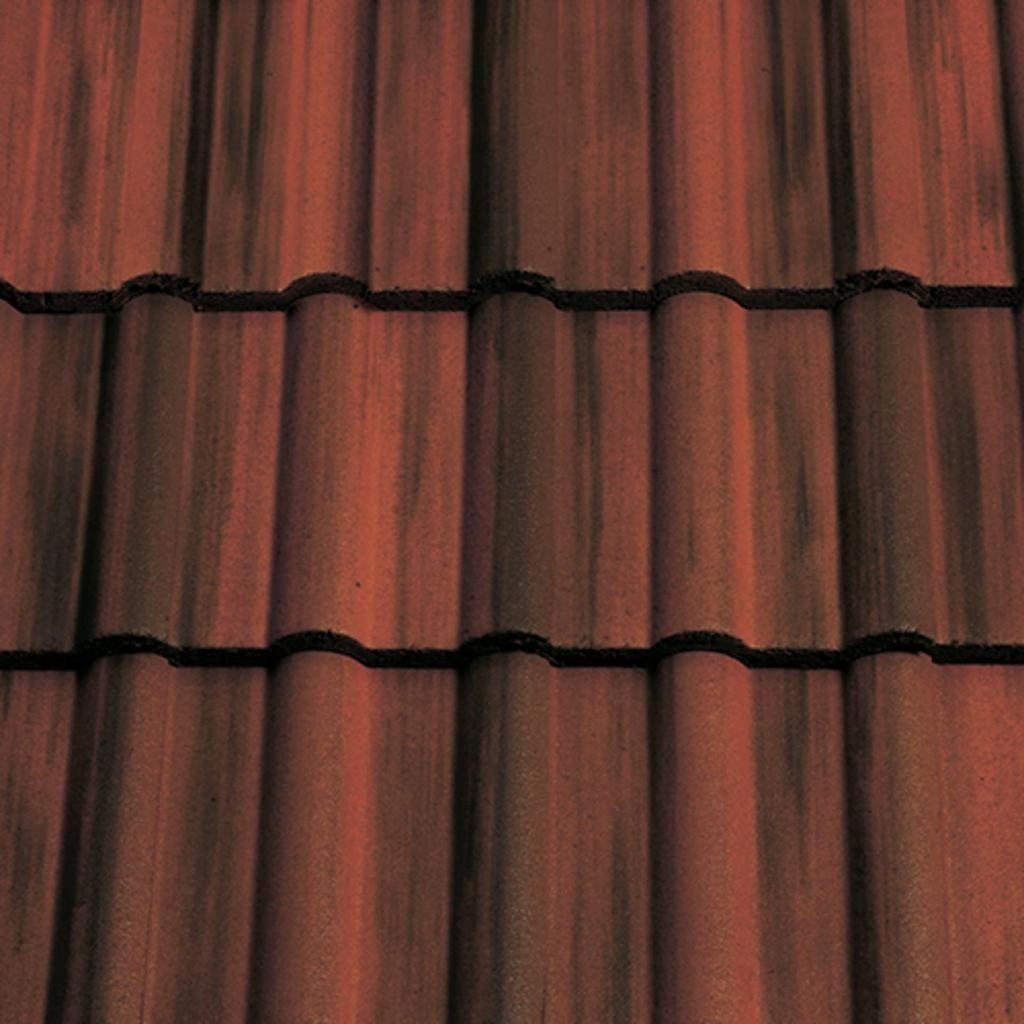 Sandtoft Double Roman Concrete Tile Smooth Rustic