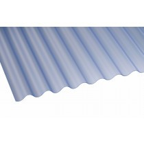 Corolux - Mini Corrugated PVC Roofing Sheet - Clear