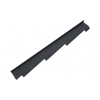 Britmet - Right Hand Side Wall Flashing - Titanium Grey (1250mm)