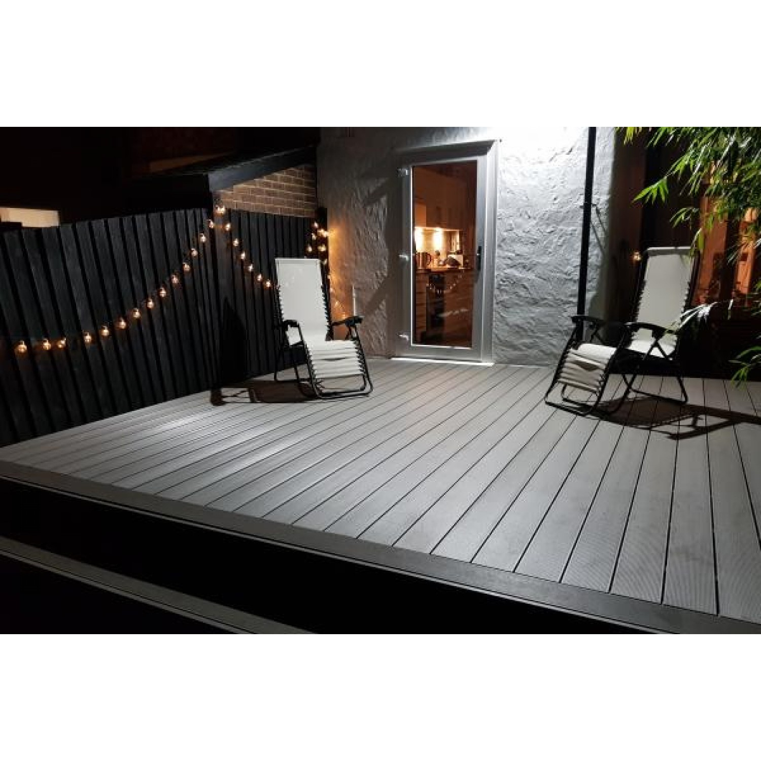 Solid Composite Decking Boards - 150mm x 25mm