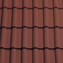 Sandtoft Double Roman - Concrete Tile - Smooth Terracotta