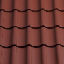 Sandtoft Shire Pantile - Concrete Tile - Smooth Terracotta