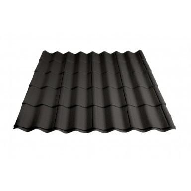 Britmet - Pantile 2000 - Tile Effect Sheet - Made to Measure - Charcoal (0.9mm)