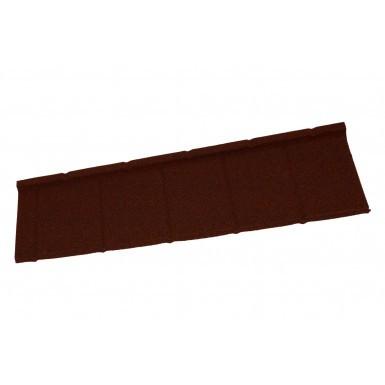 Britmet - Slate 2000 - Lightweight Metal Roof Tile - Rustic Terracotta (0.45mm)