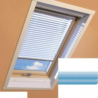Fakro - AJP II 143 - Standard Manual Venetian Blind - Cyan Blue