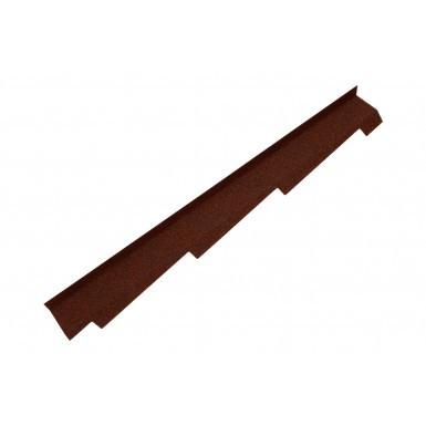 Britmet - Right Hand Side Wall Flashing - Rustic Terracotta (1250mm)