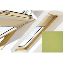 Fakro - ARF II 233 - Electrically Operated Blackout Blind (Z-Wave) - Olive Green