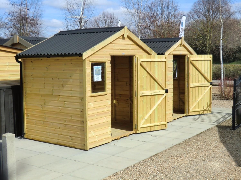 Onduline - Mini Corrugated Roof Sheet - Green (2000x866mm