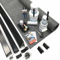 Classic Bond - Flat Rubber Roof Kit