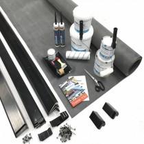 Classic Bond - Flat Rubber Roof Kit