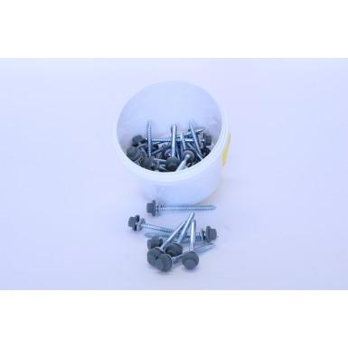 Britmet - Pantile 2000 - Main Fixings - Mid Grey (85mm)