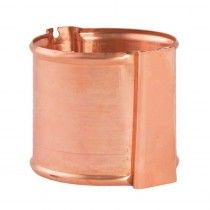 Lindab Guttering - Pipe Holder with Wedge - Natural Copper
