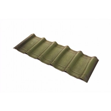 Onduvilla - Bitumen Roof Tiles - Shaded Green (2.18 m2 Coverage - Pack of 7)