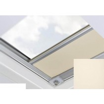 Fakro - ARF/D II 053 - Flat Roof Manual Blackout Blind - Cream
